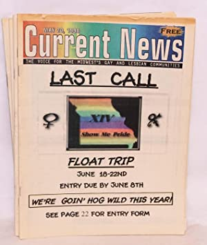 Current News: the voice of the Midwest's lesbian and gay communities; vol. v, #20, Aug. 24, ...