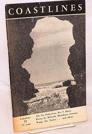 Coastlines: vol. 5, no. 2 whole number 18, 1962: Frumkin, Gene, editor, Rex S. Burns, Thomas ...
