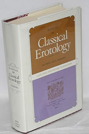 Manual of classical erotology (De figuris Veneris): Forberg, Fred. Chas