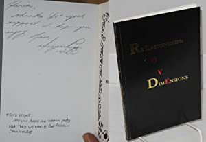 ReLationships O V DimEnsions [Love] a collection of poetic literations: Lattimore, Brenda S., Gwen ...