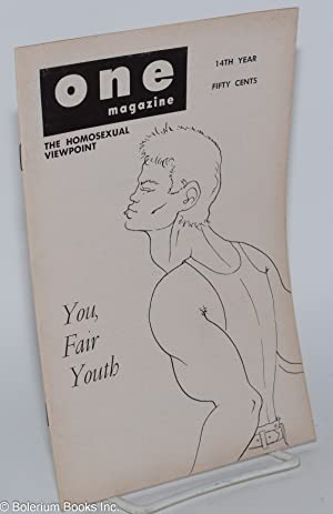 One magazine; the homosexual viewpoint; vol. 14, #2, February 1966: Conger, Richard, editor, ...
