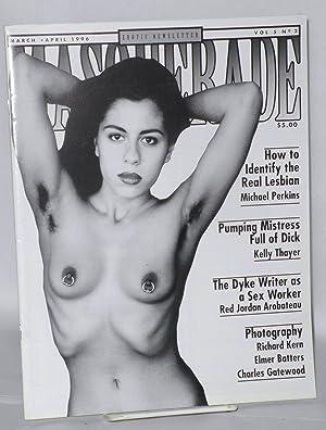Masquerade: erotic newsletter vol. 5, no. 2,: Kasak, Richard, editor,