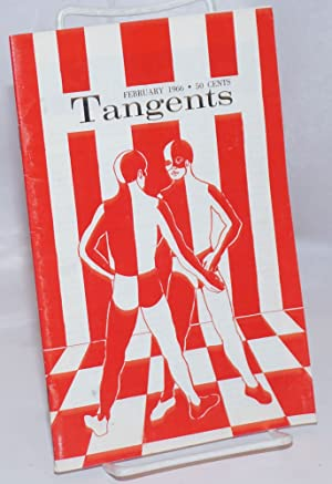 Tangents magazine vol. 1, #5, Feb. 1966: Slater, Don, Joseph Hansen, editors, Gene Damon, James ...