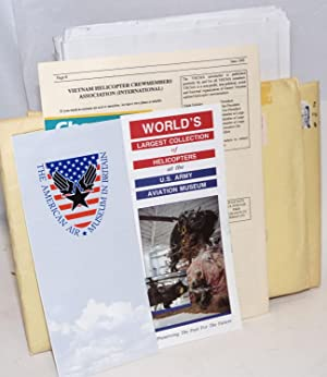 Newsletters sent a Kingsman vet, with ephemera, plus postwar materials from other units (Screaming ...