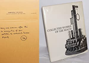Collected works of Lee Mach: Mach, Lee, photography by Fred Salaff