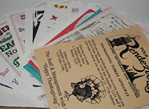 Club Rendezvous handbill collection [34 handbills]