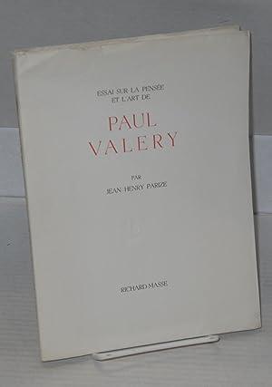 Essai sur la pens?e et l'art de Paul Valery: Parize, Jean-Henry, dessin in?dit de Suzanne Van ...
