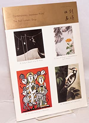 Contemporary Japanese Prints. Catalogue 1978 Autumn