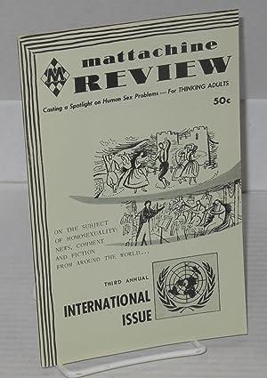 Mattachine review: vol. 4, #11, November, 1958: Call, Hal, editor, Foltro, Philip Jason, et al.