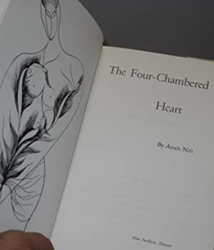 The four-chambered heart: Nin, Anais, illustrations and frontis by Ian Hugo