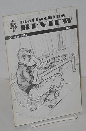 Mattachine review: vol. 7, #10, October 1961: Call, Harold, editor, Gregory H. Roxton, Noel I. ...
