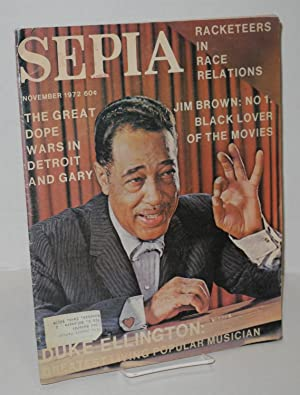 Sepia: vol. 21, no. 11, November 1972: Burns, Ben, Edna Turner et al, editors, Joseph Horton, ...