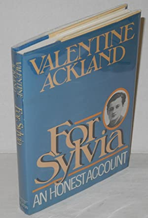 For Sylvia: an honest account [Sylvia Townsend: Ackland, Valentine, foreword
