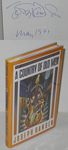 A country of old men; the last Dave Brandstetter mystery