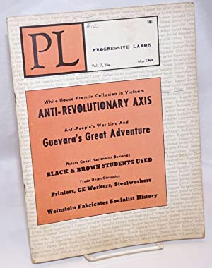 Progressive labor, vol. 7, no. 1, May 1969: Progressive Labor Party
