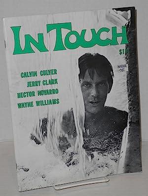 In touch; celebrating gay awareness, vol. 1, number 10, July 1974: Sheffler, William, editor, Jim ...