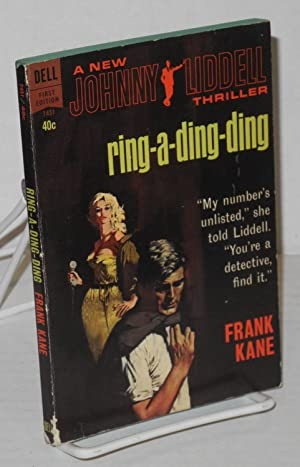 Ring-a-ding-ding: a new Johnny Liddell thriller
