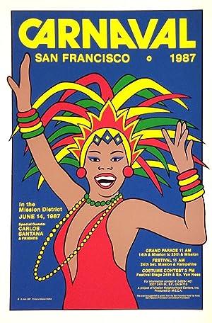Carnaval / San Francisco. 1987 [screen print poster]: Hom, Nancy; artist
