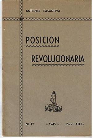 Posicion revolucionaria: Casanova, Antonio