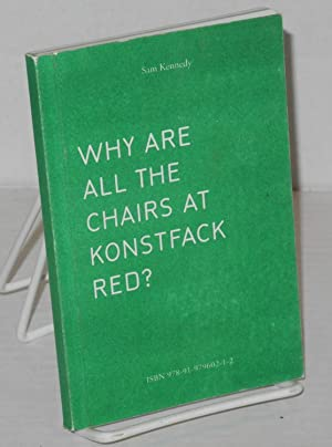 Why Are All the Chairs at Konstfack Red