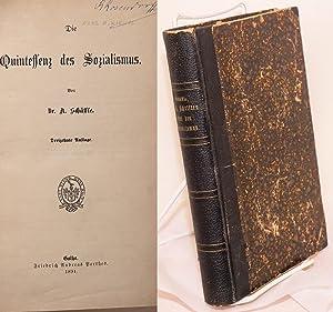 Die Quintessenz des Sozialismus, Dreizehnte Auflage; [bound with] Die Aussichtslogigkeit der ...