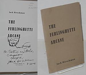 The Ferlighetti arcane: Hirschman, Jack