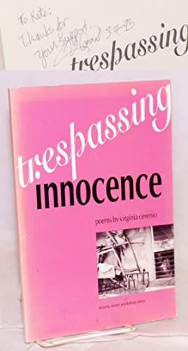 Trespassing innocence; poems