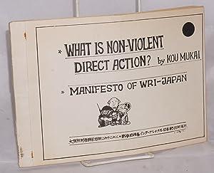 What is non-violent direct action: Kou, Mukai