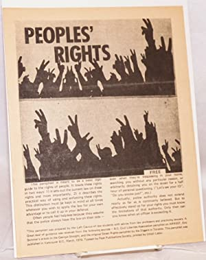 Peoples' Rights