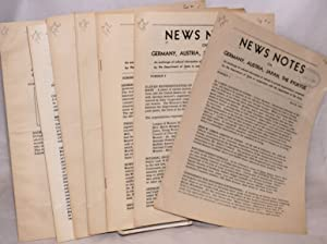 "News notes on Germany, Austria, Japan, the Ryukyus [later ""News Notes on Special Areas]. (Ten ..."