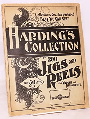Harding's collection of 200 jigs and reels for violin and pianoforte