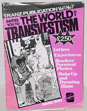 The World of Transvestism Tranz Publication vol. 1, no. 7: Douglas, Brian, editor