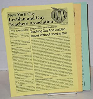 New York City Lesbian and Gay Teachers Association newsletter: vol. 15, #10, June 1992 & vol. ...