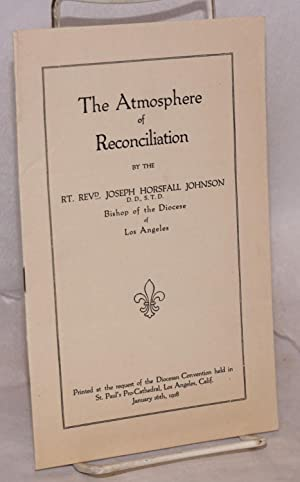 The Atmosphere of Reconciliation