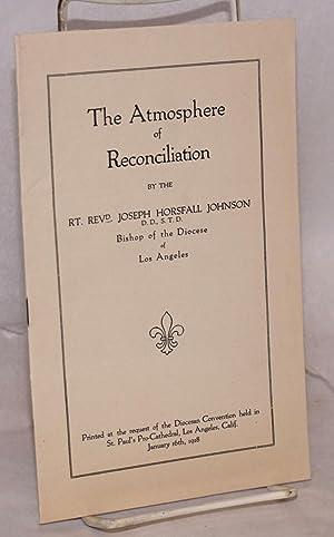atmosphere of reconciliation: Johnson, Rev. Joseph Horsfall