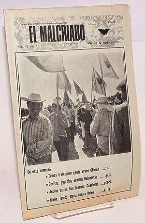 El Malcriado: Voz Oficial de la Union de Trabajadores Campesinos. (Espa?ol) Vol. 6 no. 13 (June 29,...