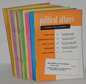 Political affairs, a theoretical and political magazine of scientific socialism. Vol. 39, no. 1, ...