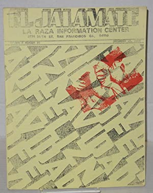 El jalamate: La Raza Information Center; vol. 2, #10, December, 15, 1972