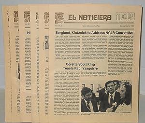 El noticiero: vol. 1, #2 - vol. 2, #3, 1980-1981 [six issue run]