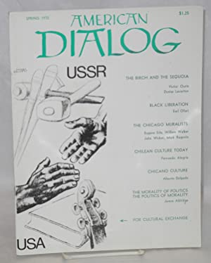 American dialog; Spring, 1972, vol. 7, no. 2: North, Joseph, ed