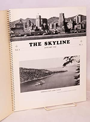 The Skyline. [full run for 1940, in spiralbound wraps]