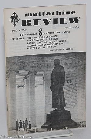 Mattachine Review: vol. 8, #1, January 1962: Call, Harold, editor, Paul Goodman