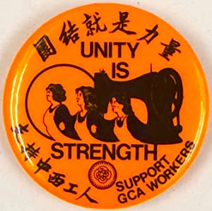 Unity is Strength / Tuanjie jiu shi liliang / Support GCA Workers / Zhichi Zhong Xi ...