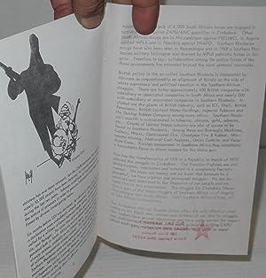 Zimbabwe; history of struggle: Dube, Joseph Z., editor