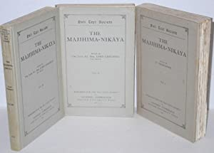 The Majjhima-Nikaya [set, three volumes]: Trenckner, V., Lord Robert Chalmers, eds