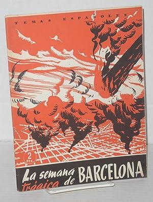 """La """"Semana Tragica"""" De Barcelona: Com?n Colomer, Eduardo"""