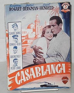 Casablanca: ediciones especiales cinematografias: Epstein, Julius J. y Philip G., y Howard Koch
