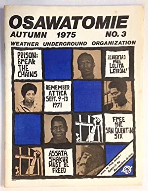 Osawatomie, vol. 1, no. 3, Autumn 1975: Weather Underground Organization