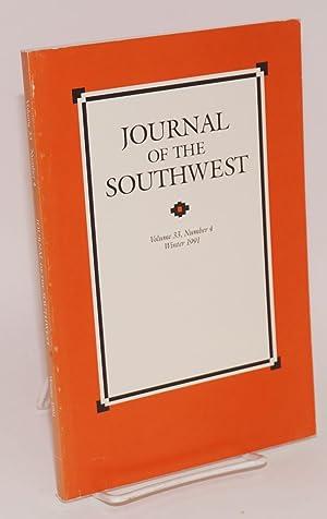 Journal of the Southwest, volume 33, number: Wilder, Joseph Carleton,