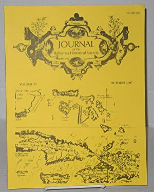 Journal of the Bahamas Historical Society vol.: Saunders, D. Gail,